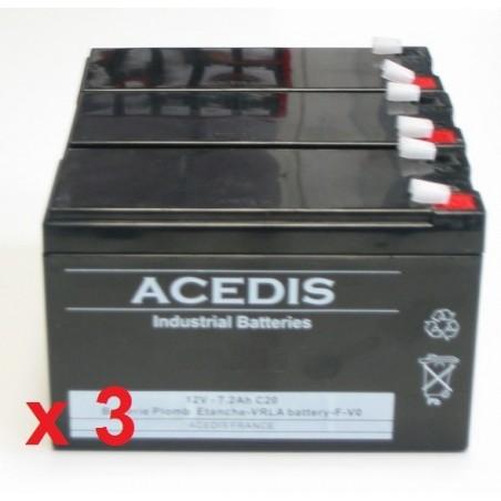 Batterie onduleur INFOSEC E4 LCD 1000 (1141)
