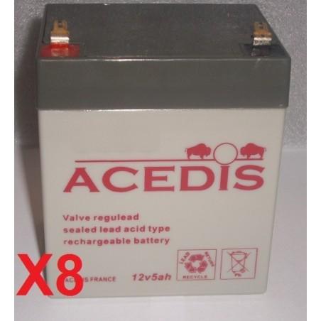 RBC46 APC Back-UPS BE500 (1266)