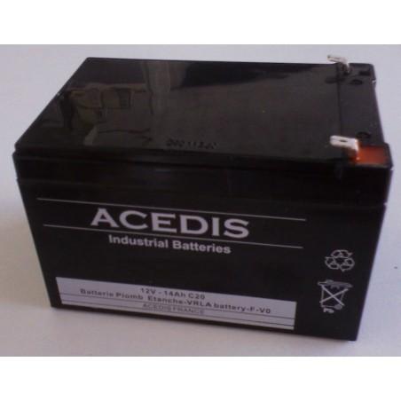 SEADOO Batterie Étanche Scooter de Mer 12V 12Ah VS Supercharged  (1414)