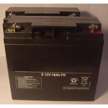 Batterie Plomb AGM étanche 12V 18 Ah / NX  (1456)