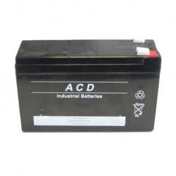 Pack Batterie 12v pour onduleur APC Back-UPS PRO LS CLEAR  500  BP500CLR   (RBC2)
