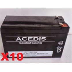 Batteries 2x12v 14AH  pour 2 Beaufort  Praticomfort