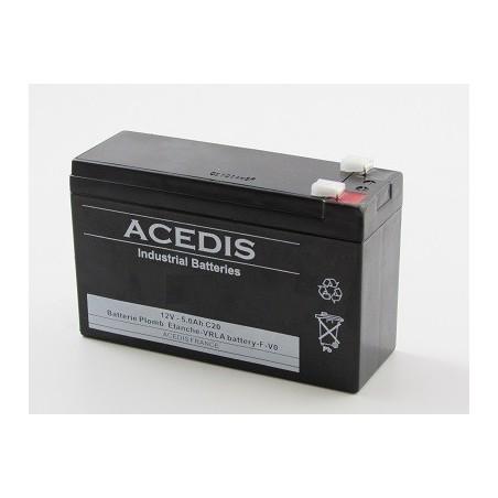 Pack Batterie 12v pour onduleur  MGE Pulsar ellipse 300 BS (204)