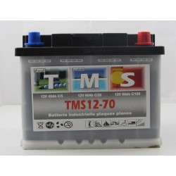 Batteries Camping Car ACEDIS TMS12-70 12V 70Ah  bornes type Auto (2363)