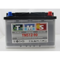 Batteries Camping Car ACEDIS TMS12-90 12V 90Ah  bornes type Auto (2364)
