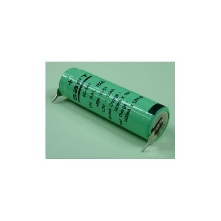 acummulateurs Nimh Industriels  AA 1,2V 1,7AH P2 SAFT (239)