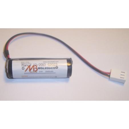 Batterie systeme alarme BATLI04 MB 3.6V 1.8Ah (289)