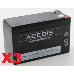 Batteries tubulaires  OPZS 2V 550Ah ACEDIS