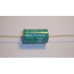 Pile lithium industrie 1/2AA AXIAL 3V 950mAh (275)