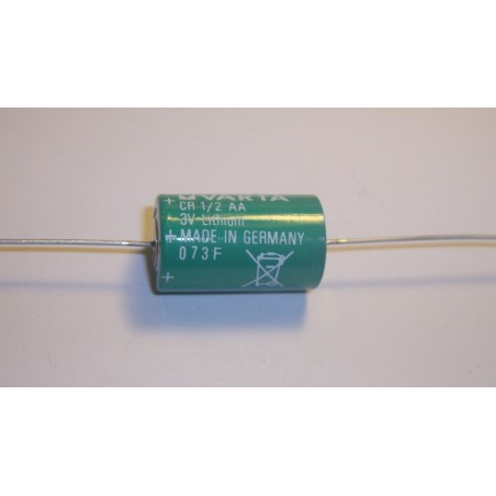 Pile lithium industrie 1/2AA AXIAL 3V 950mAh (275)