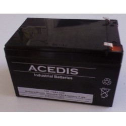 Accumulateur Nicd industriels VE 2/3A 1.2V 600mAh FT