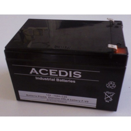 Accumulateur(s) Nimh industriels HF-C1U prismatique 1.2V 550mAh FT
