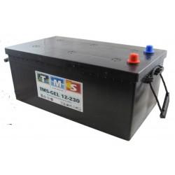 Batterie plomb étanche gélifiée plaques planes ACEDIS TMSGEL12-230 12V 230Ah VRLA  - 1