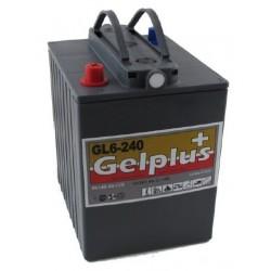 Batteries au plomb GEL étanches VRLA GL6-240 6V 240Ah a decharge lente