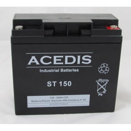 Batterie Plomb AGM étanche 12V 18 Ah / ACD ST 150  (2003)