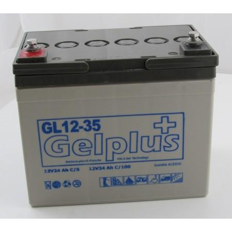 Batteries au plomb GEL étanches VRLA ACEDIS GL12-35 12v 34.3Ah