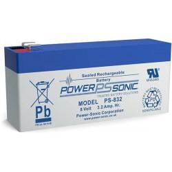 Batterie plomb étanche AGM Powersonic PS-832
