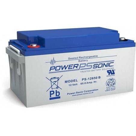 Batterie AGM Power Sonic 12V 65Ah C20 / PS-12650VDS