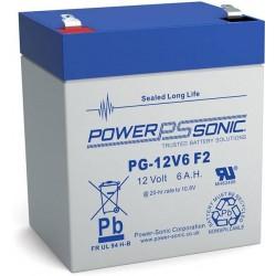 batterie AGM étanche Powersonic longe vie pg-12V6