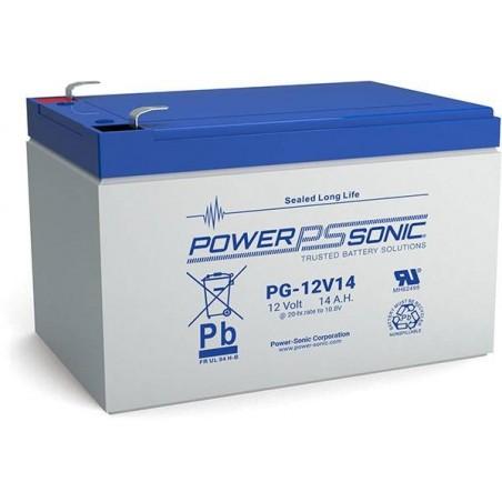 Batterie AGM Power Sonic 12V 14Ah C20 / PG-12V14
