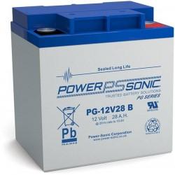 Batterie AGM Power Sonic 12V 28Ah C20 / PG-12V28