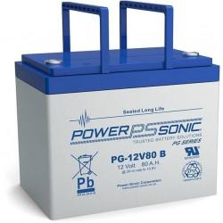 Batterie AGM Power Sonic 12V 80Ah C20 / PG-12V80