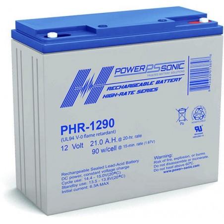 Batterie AGM Power Sonic 12V 21Ah C20 / PHR-1290-FR
