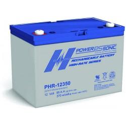Batterie AGM Power Sonic 12V 95Ah C20 / PHR-12350-FR
