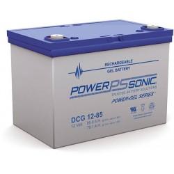 Batterie GEL Power Sonic 12V 85Ah C20 / DCG12-85