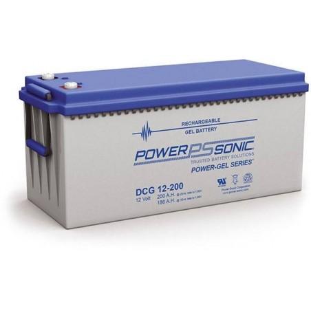 Batterie GEL Power Sonic 12V 200Ah C20 / DCG12-200
