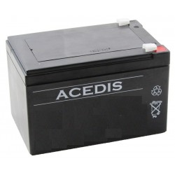 Batterie Lithium fer phosphate (LIFEPO4) ACEDIS 12V 12Ah C20 / LIFE12-12