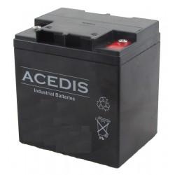 Batterie Lithium fer phosphate (LIFEPO4) ACEDIS 12V 23,1Ah C20 / LIFE12-23,1
